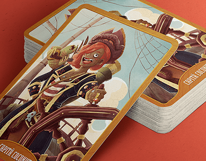 Capitã Coconut's Card game | Personal Project