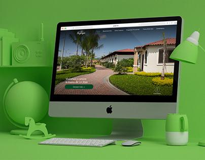 Rediseño del Sitio Web - Urbanización La Joya