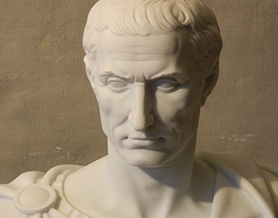 Caesar, 80 cm, marble, 2015