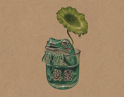 Alcoholic Frog - JINRO