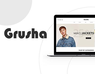 Grusha Online store