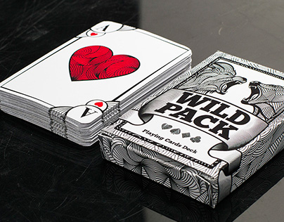 Wild Pack - playing cards