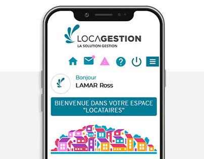 Site vitrine, Locagestion (2019)