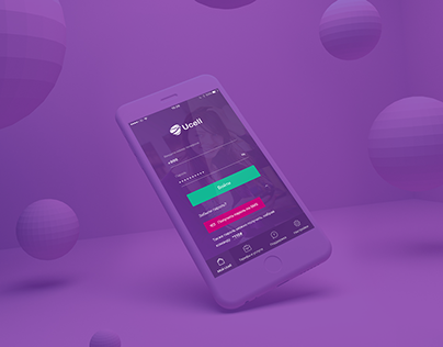 Ucell App - UI/UX - Timur Aliev & SmartLab