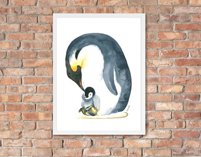 Penguine Motherhood