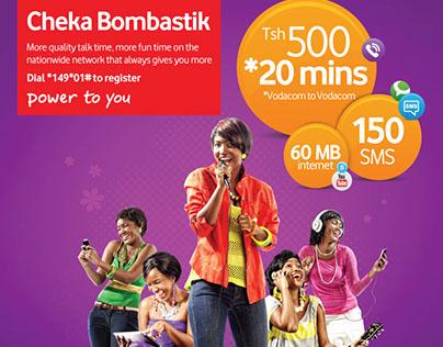 Vodacom Cheka Bombastik