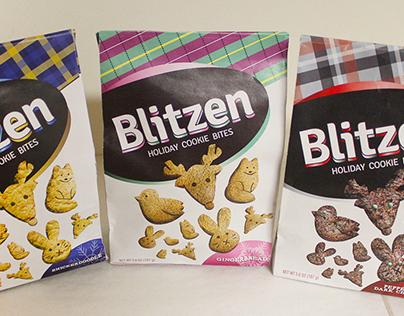 """Blitzen"" Holiday Cookie Bites"