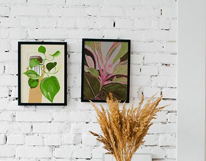 Digital Art: Plants