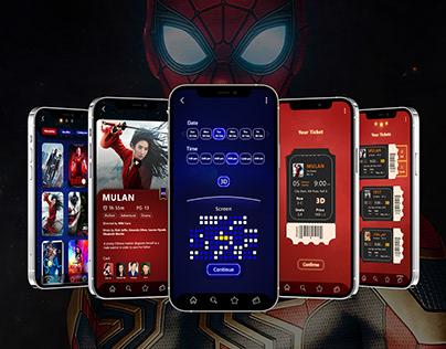 Booking Cinema App UI/UX