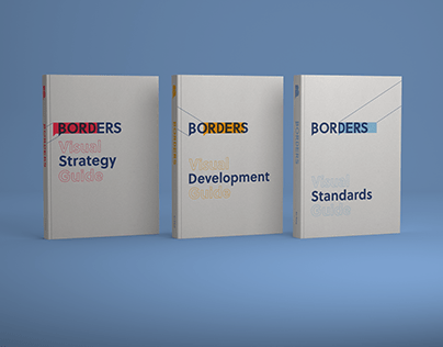 Student Project / Borders Rebranding