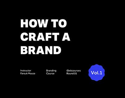 Branding Projects Vol.1