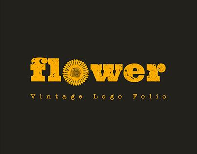 FLOWER | Vintage Logo Folio