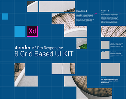 4eeder V2 Pro for Adobe XD