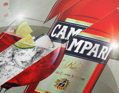 Campari Tonic Branding (Dallas Antwerp)