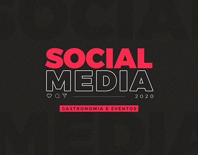 Social Media 2020 | Gastronomia e Eventos