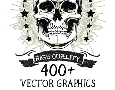 400+ High-Quality, Scalable Vectors Graphics