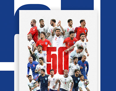 Kyle Walker 50 caps for England