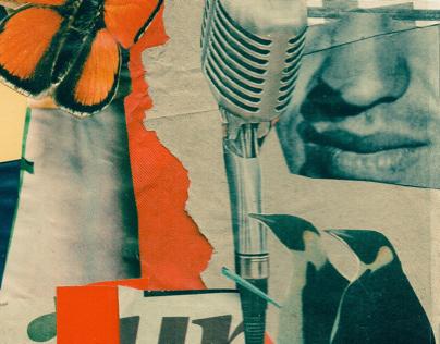 Silent Speeches // Collage