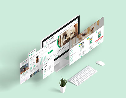 E-commerce UI details (Desktop)