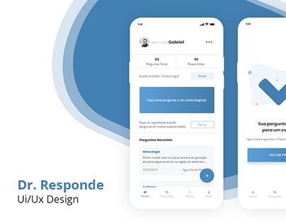 Ui/Ux - Dr. Responde