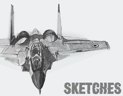 Pen Sketches 2019-20