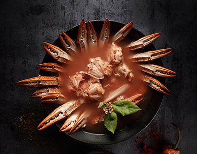 sea food - crabs