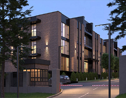 Animation video of residential complex