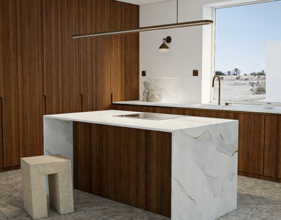 Studio Edna CG - Interior Design - Kitchen