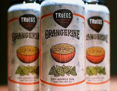 Tröegs Orangerine Label Design