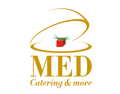 MED Catering & More // Logo