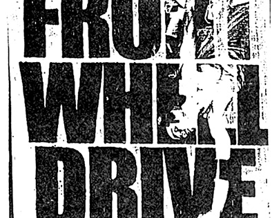 Front Wheel Drive zine Skate Logo