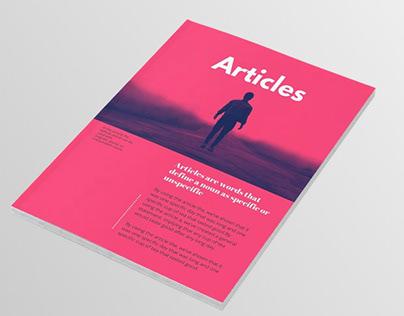 Layout Design: Magazine Article