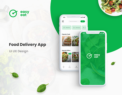 Food Delivery App Design