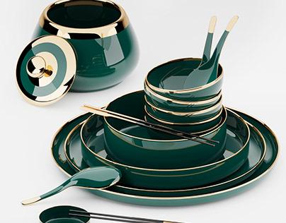 Decorative cookware set 1 NSV