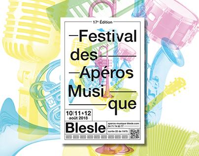 FESTIVAL DE BLESLE // Affiche