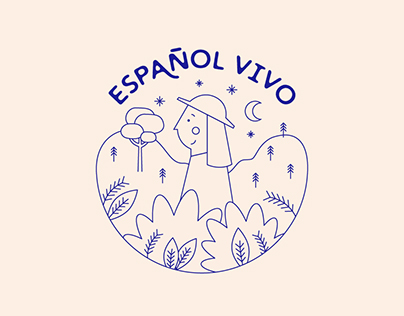 Español Vivo ~ Diseño de Identidad