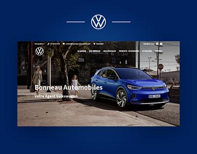 Webdesign - Concession Volkswagen