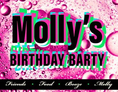 Birthday Barty - Bright and Bubbly