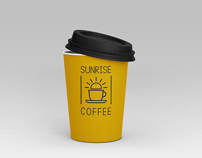 Sunrise Coffee Packaging Design