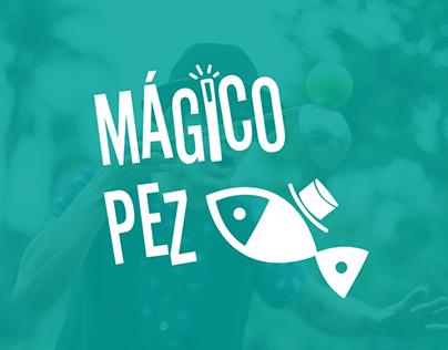 MÁGICO PEZ logo design