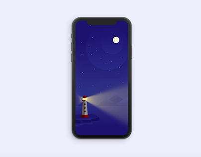 Lighthouse animation