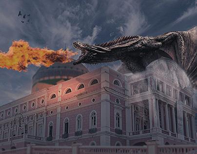 Dragão Teatro Amazonas | Manipulação