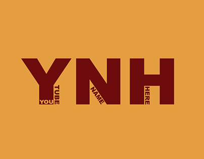 Youtube Logo Design for YNH Youtube Channel