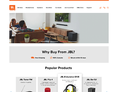 JBL Website