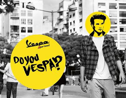 VESPA - Landing Page Web Design