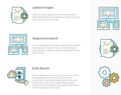 Website Icons.