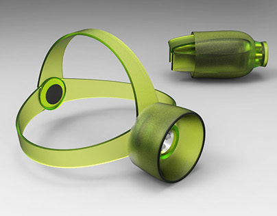 Silicon head lamp and torch light concept