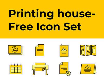 Printing house-Free Icon Set