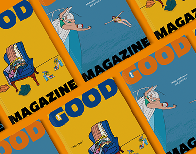 THE GOOD MAGAZINE | Cover Design & Illustrations