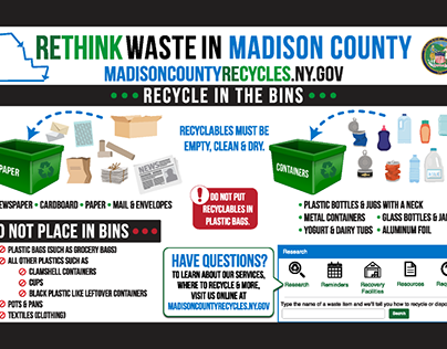 Madison County Department of Solid Waste Rebranding